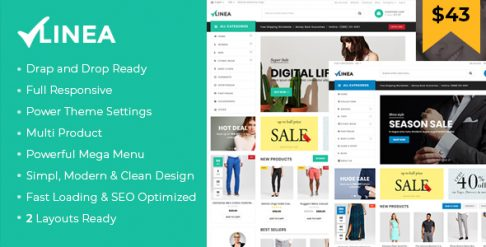 Linea - Clothing Store Shopify Theme
