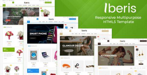 Iberis - Responsive Multipurpose HTML5 Template