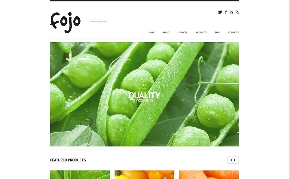 Fruit Store WooCommerce WordPress Theme