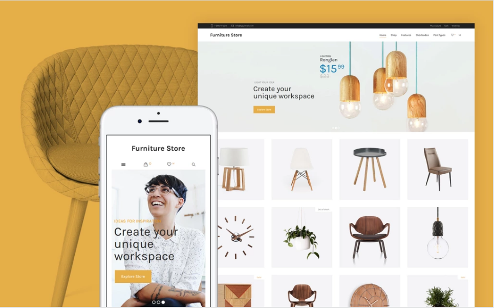 Premier Furniture WordPress Theme