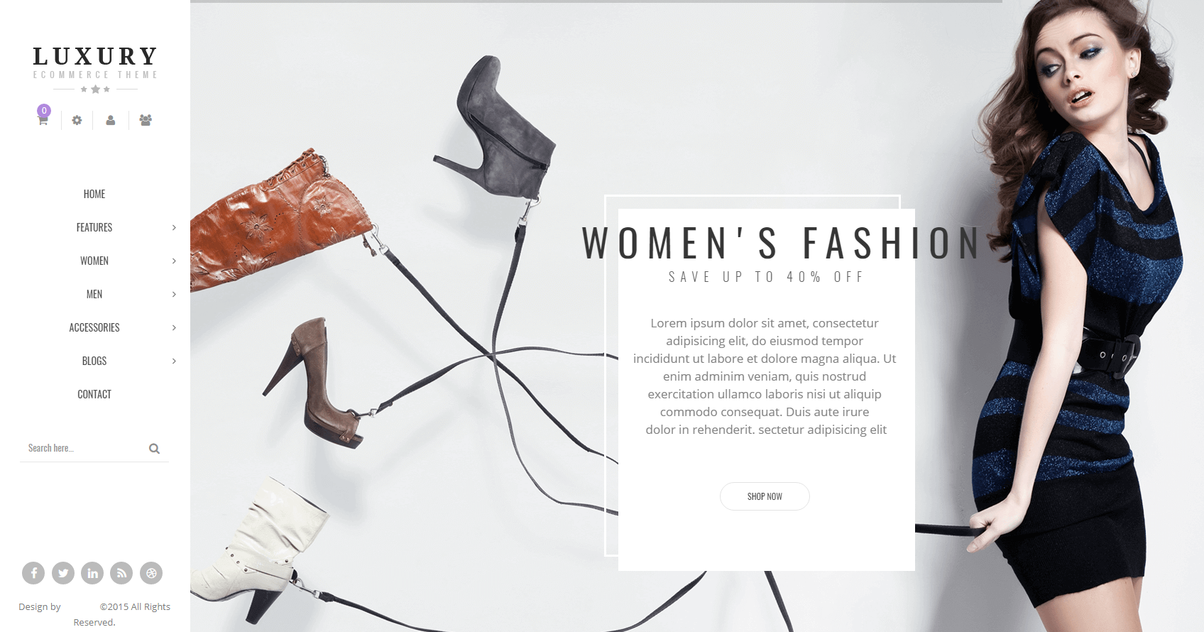 Fashion Store Magento Themes