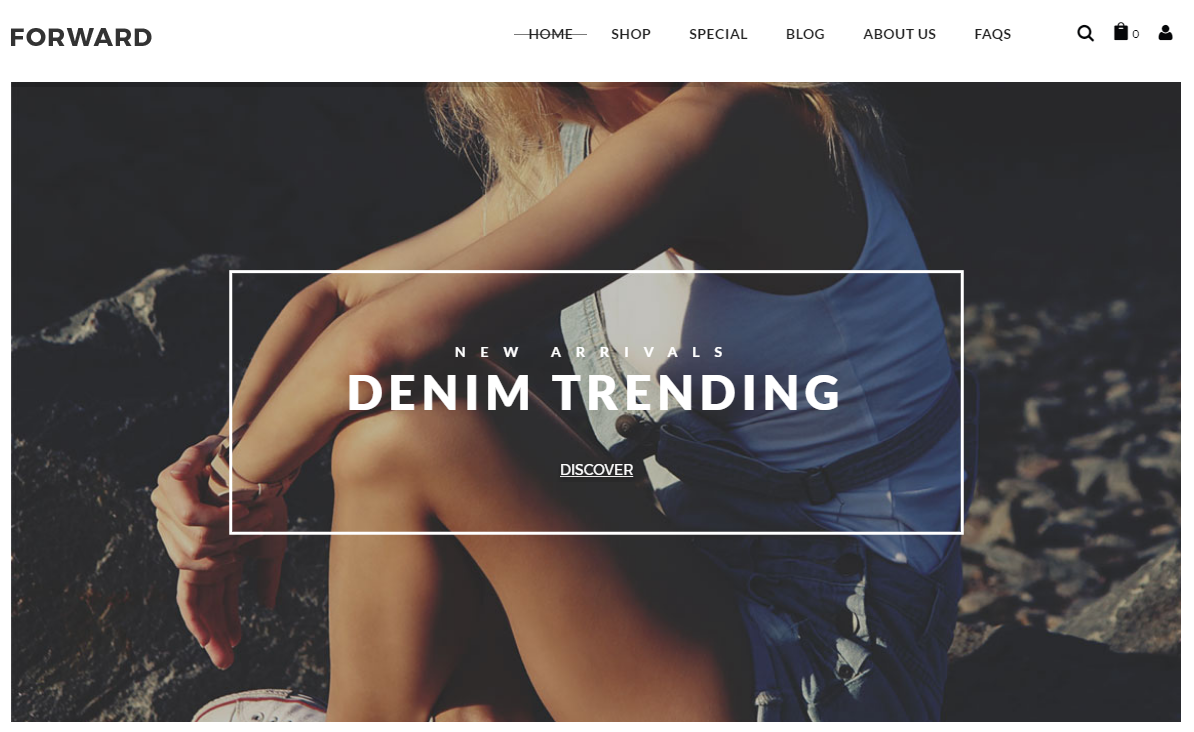 Fashion eCommerce Magento Themes