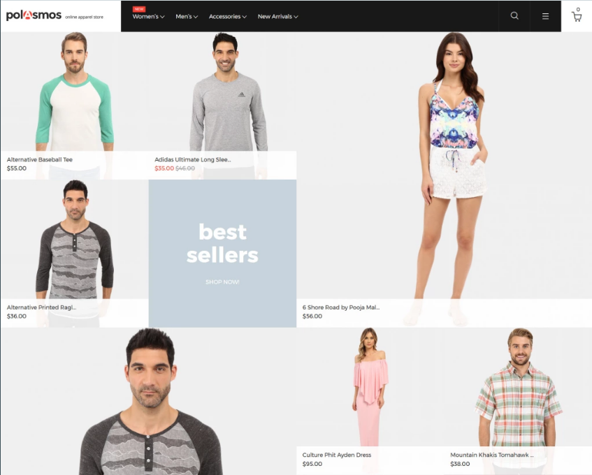 Magento eCommerce Fashion Themes