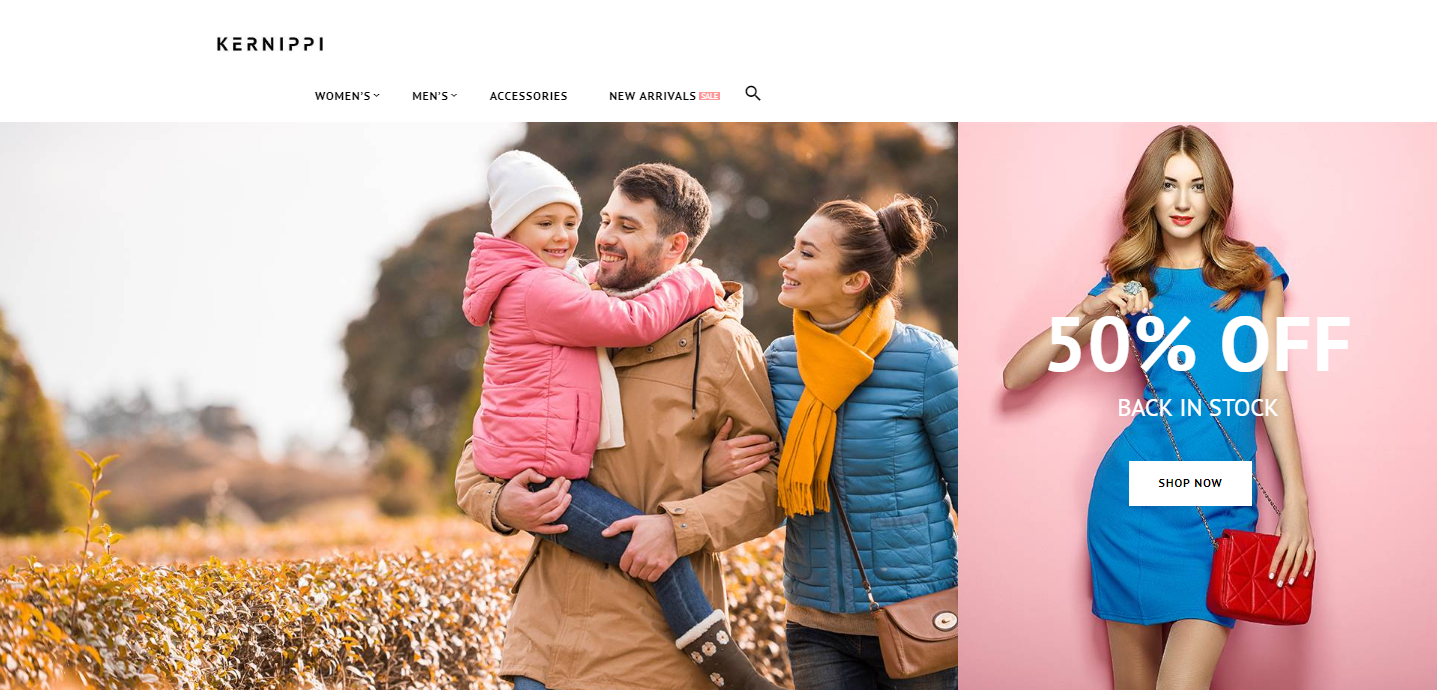 Magento Fashion Theme for Online Stores