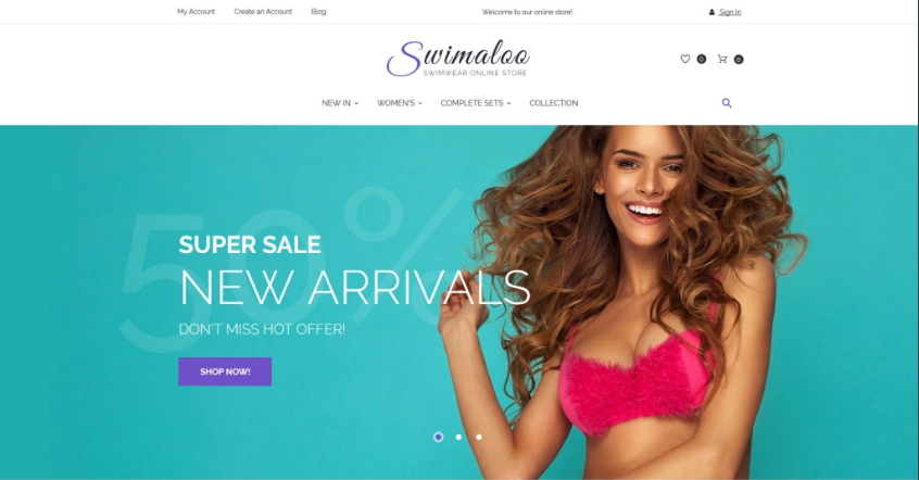 Online Fashion Store Magento Theme