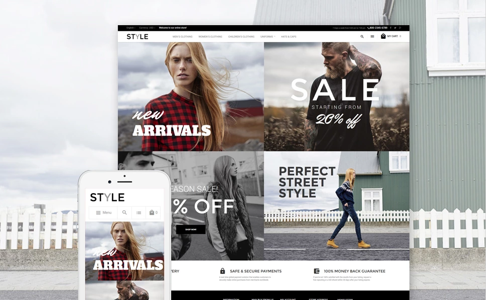 Luxury Fashion Store Magento Theme