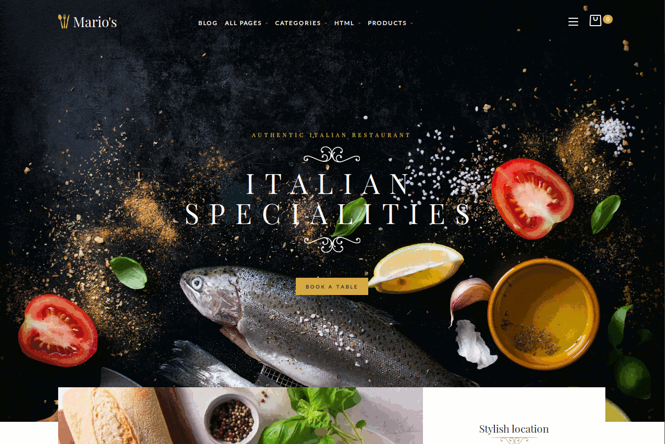 Food Store Responsive OpenCart Theme