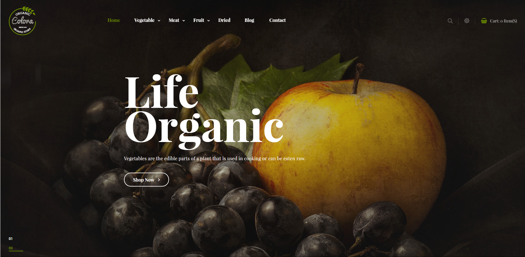 Online Food Store OpenCart Theme