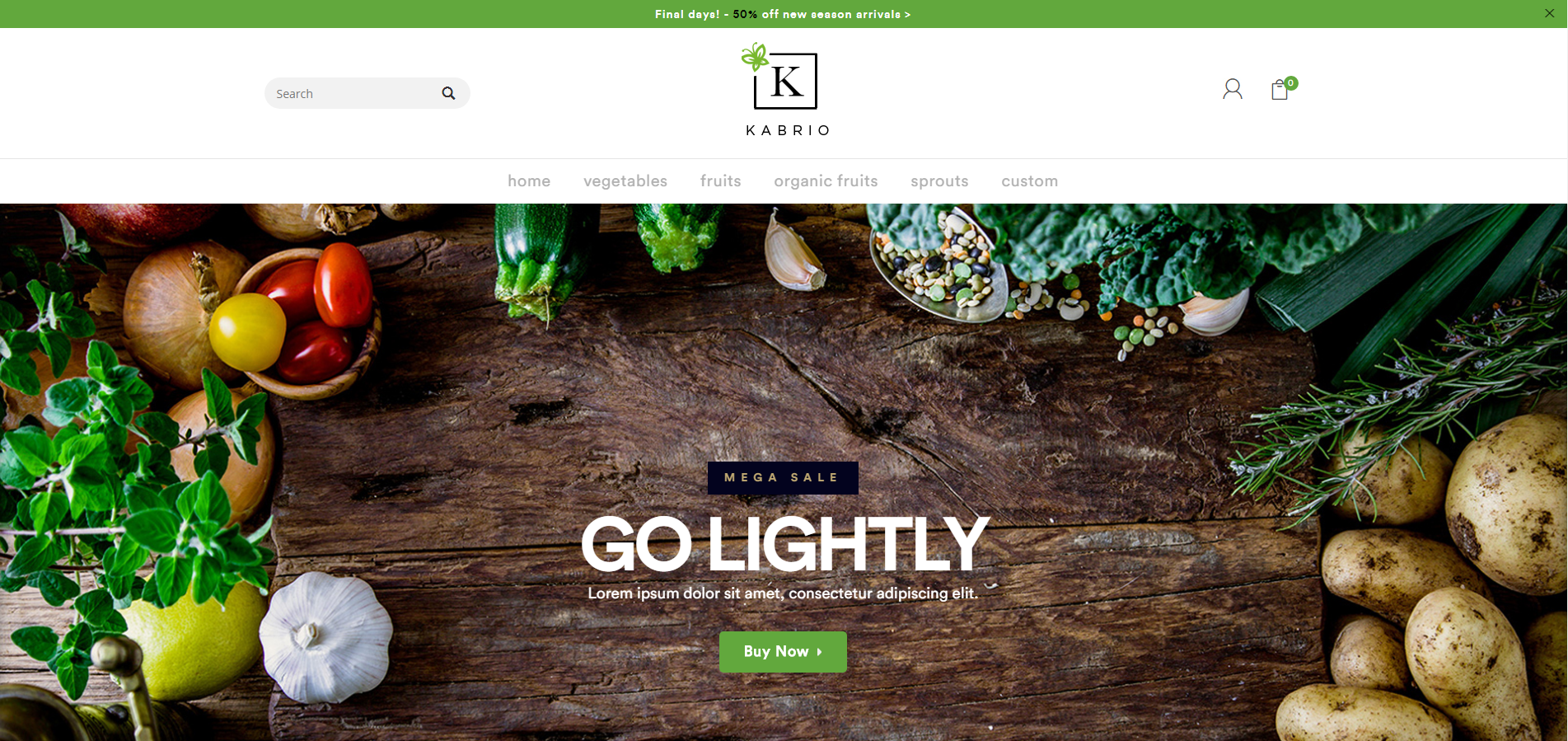 Food Opencart Themes and Templates
