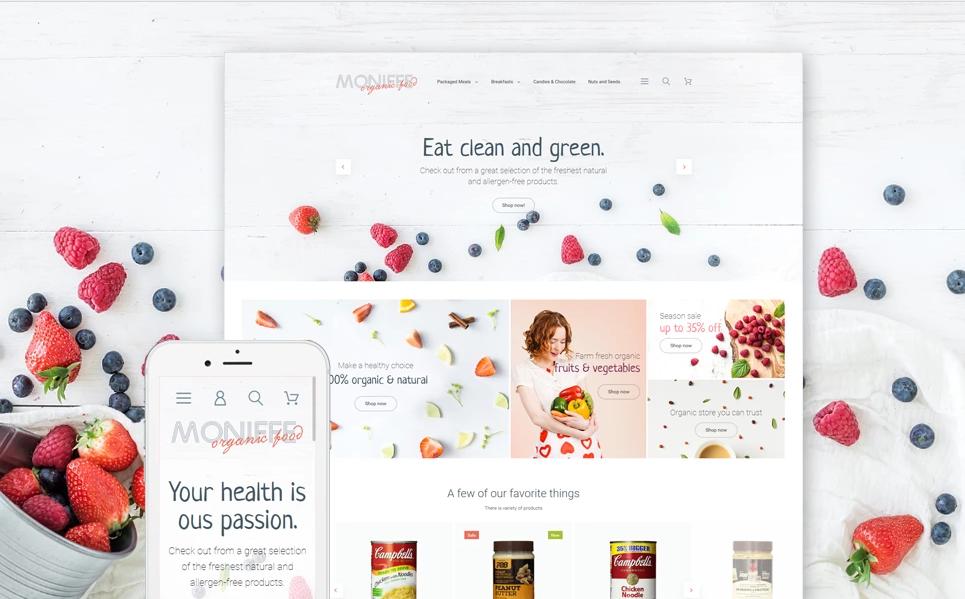 Fruit Store Magento Themes