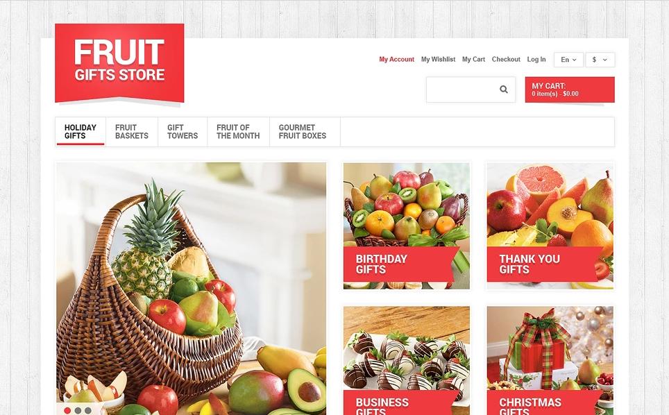 Magento Fruit Theme