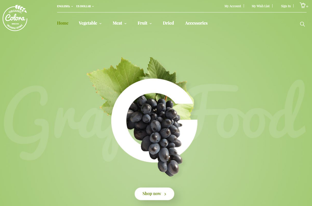 Fruit Shop Magento Theme