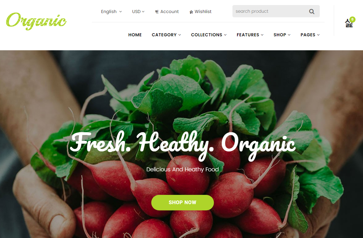 Fruit Shopify Theme