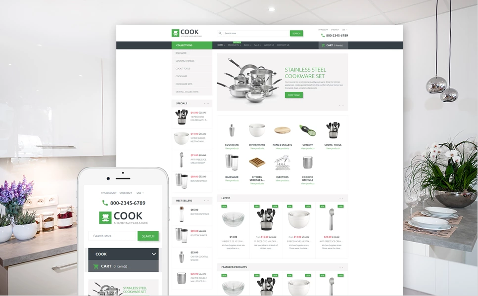 Interior Furniture Shopify Theme