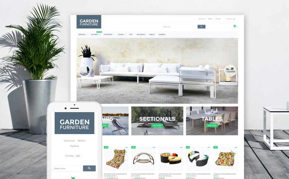 Comfortable Furniture Shopify Theme