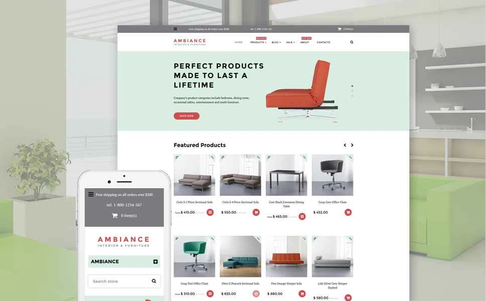 Furniture & Home Decore Shopify Theme