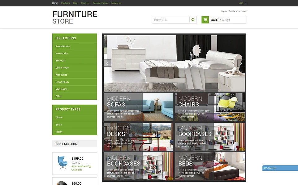 Furniture Shopify Theme & Template