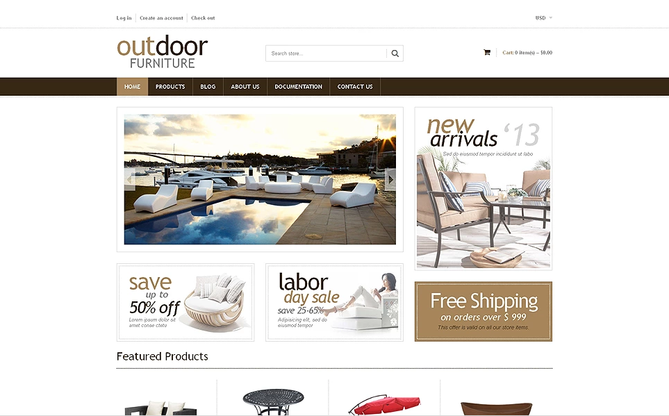 Interior & Furniture Store Shopify Theme