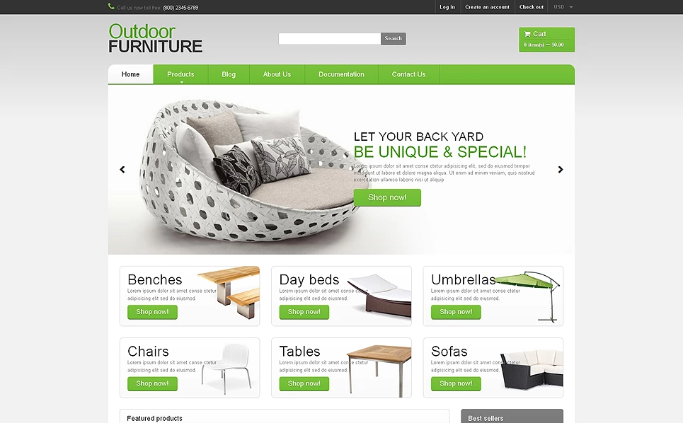 Best Shopify Theme for Interior & Furniture Store