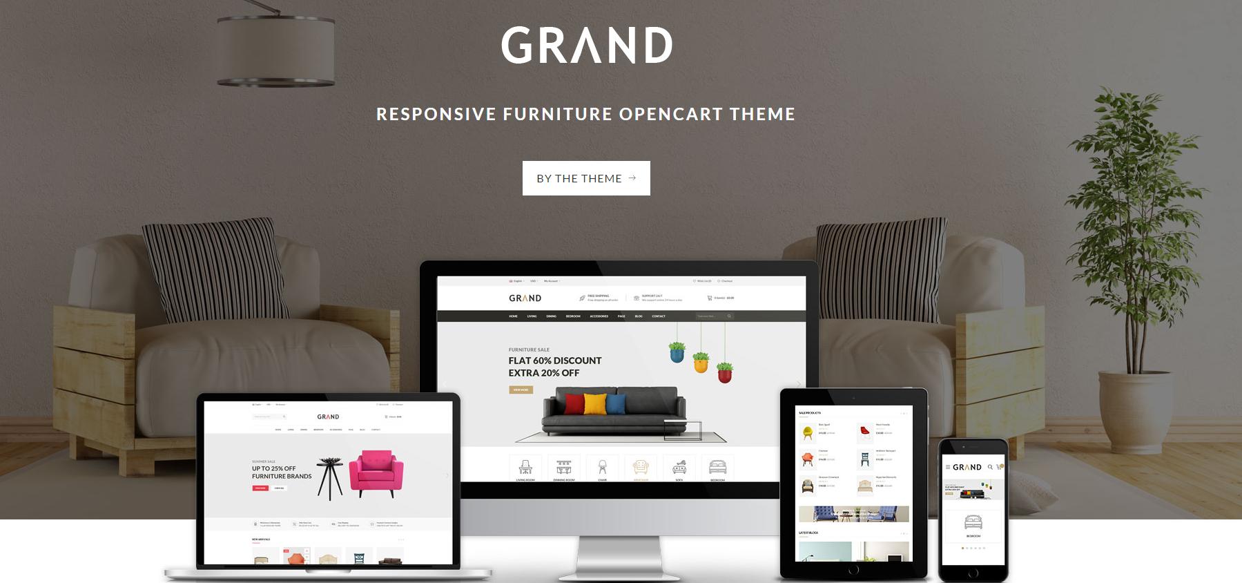 20+ Best Responsive OpenCart Furniture Themes 2017 – Premium ...