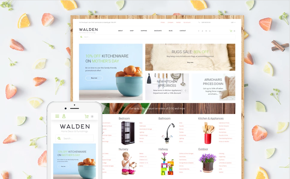Well Documented Furniture & Bussiness WooCommerce Theme