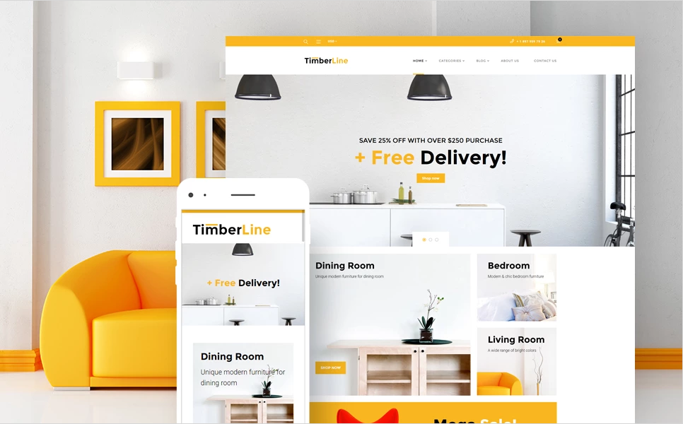 WP Themes for Furniture Store