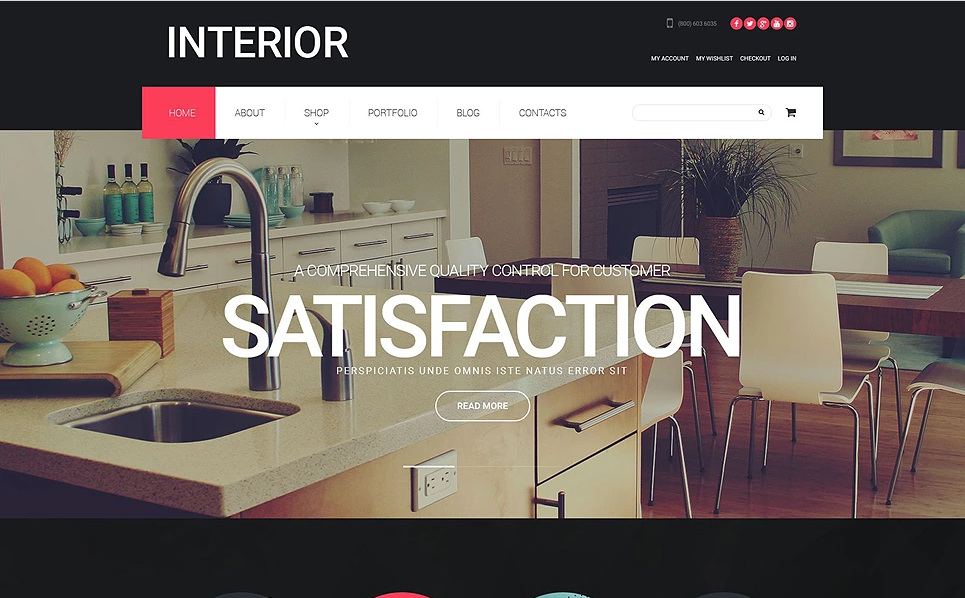 41 Latest Furniture Wordpress Themes For Manufacturers Stores And Interior Designers 2017