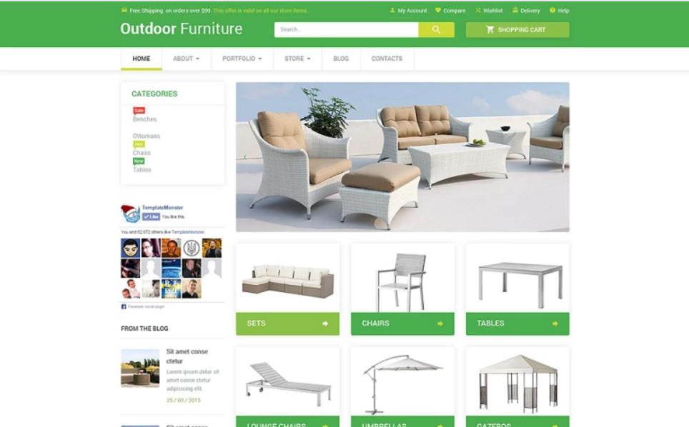 Furniture WordPress eCommerce Theme