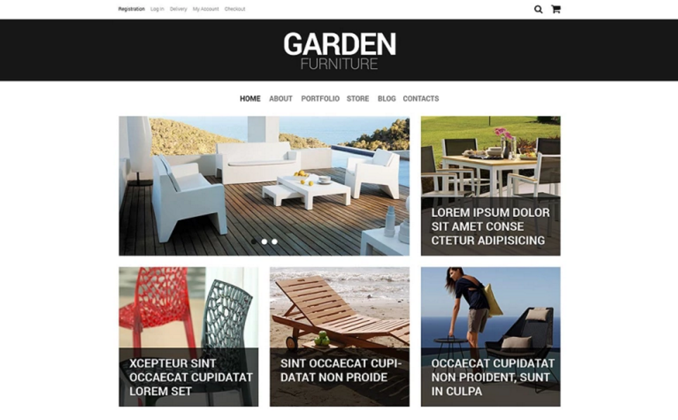 Portfolio Furniture WooCommerce Themes