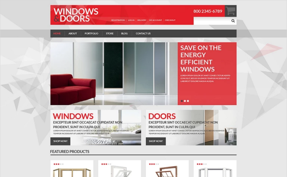 Interior Furniture Store Woocommerce Theme