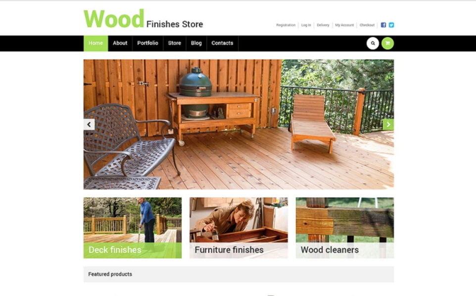 Garden Furniture WooCommerce Theme