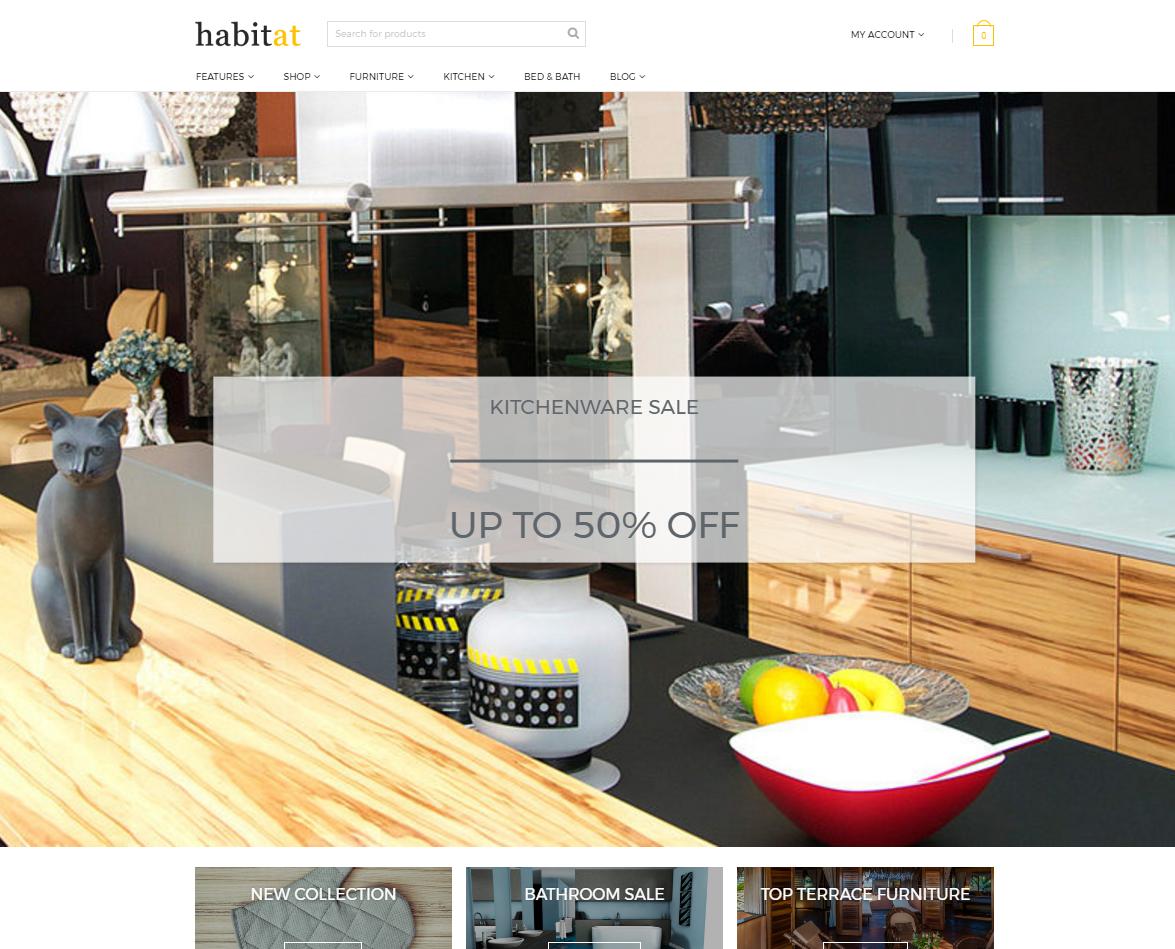 Versatile WooCommerce Furniture Store Theme