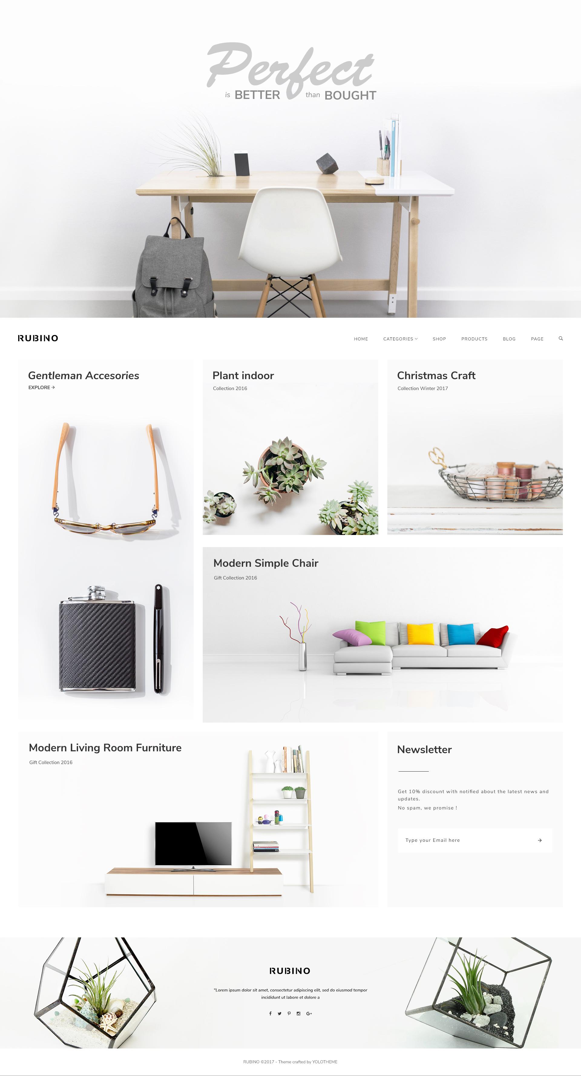 Furniture Store & Interior Design WordPress Commerce Theme