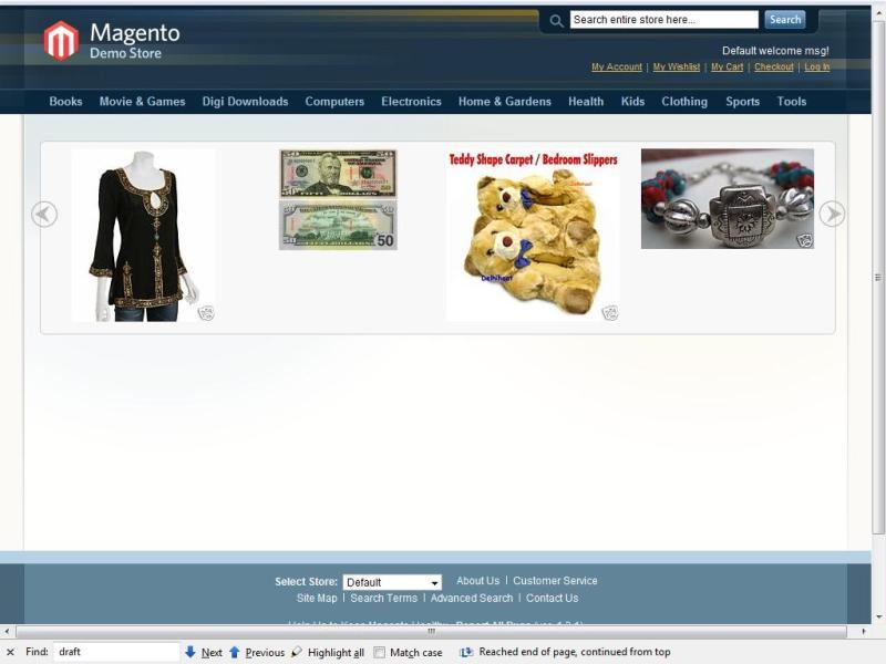Prebuilt Image showcase on frontend