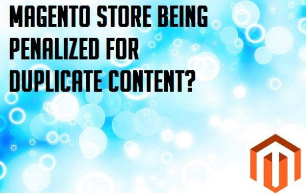 Magento Store Being Penalized for Duplicate Content