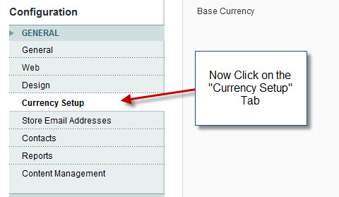manage currency in magento
