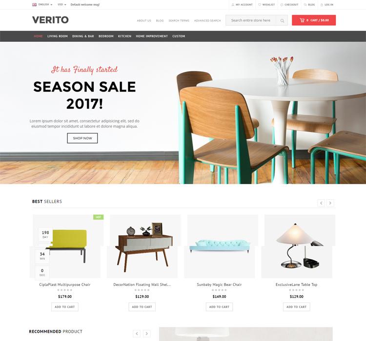 Furniture Store Magento Theme