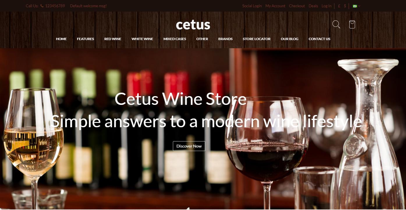 Premium Wine Store Magento Theme