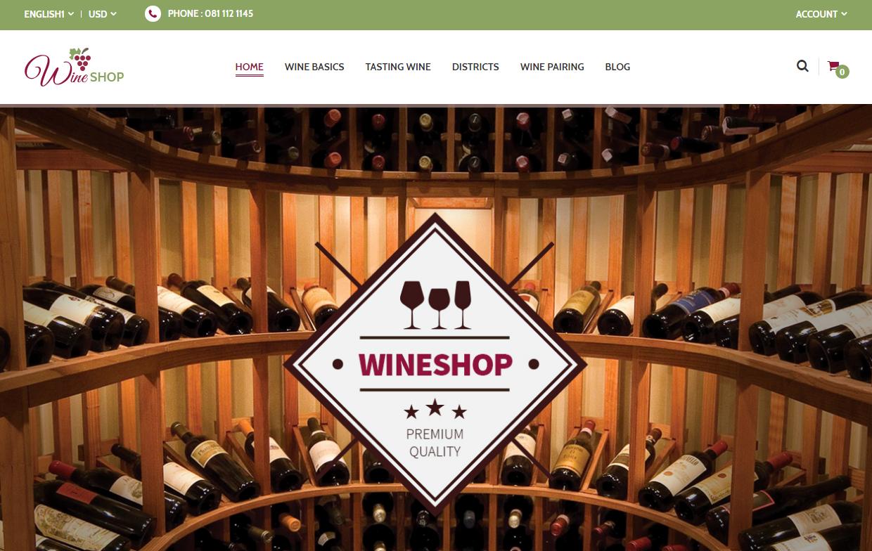 Wine Store Premium Magento Theme