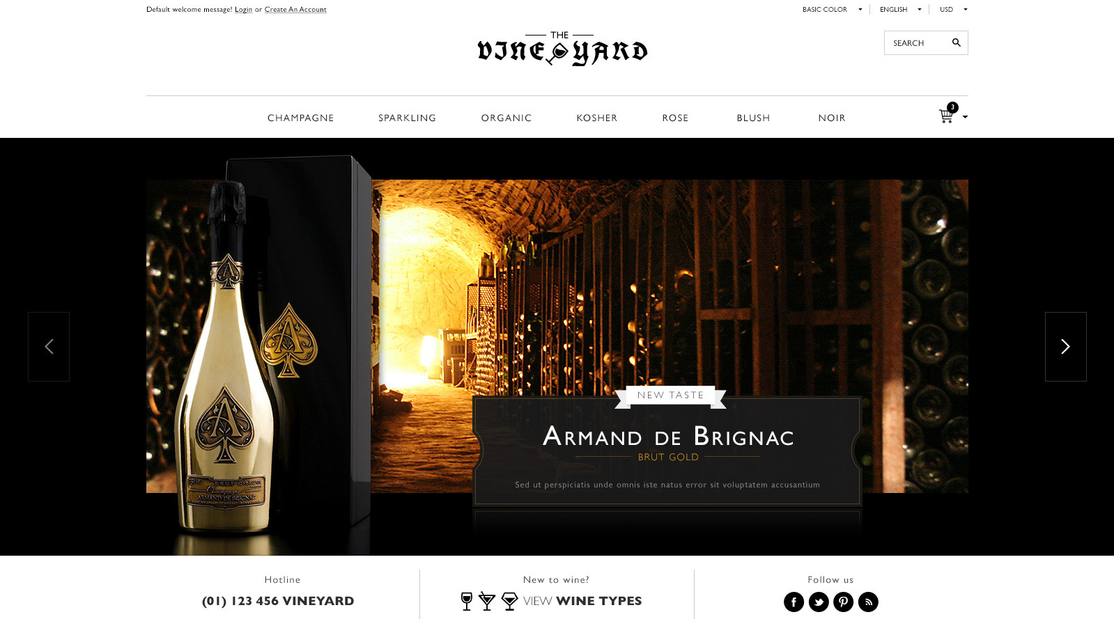 Best Responsive Magento Wine Store Themes